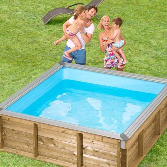 Dřevěné bazény cena